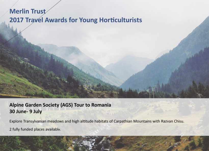 Alpine Garden Society Tours to Romania in 2017