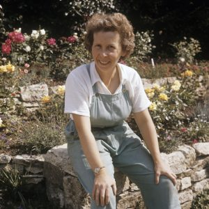 Self-portrait of Valerie Finnis (1924-2006). ©Valerie Finnis/RHS Library Collections